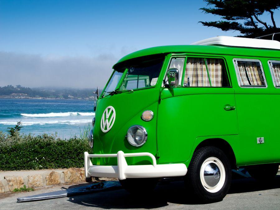 Volkswagen T1 En Carmel By Daniel Leiranes Via 500px Volkswagen Vintage Vw Shades Of Green