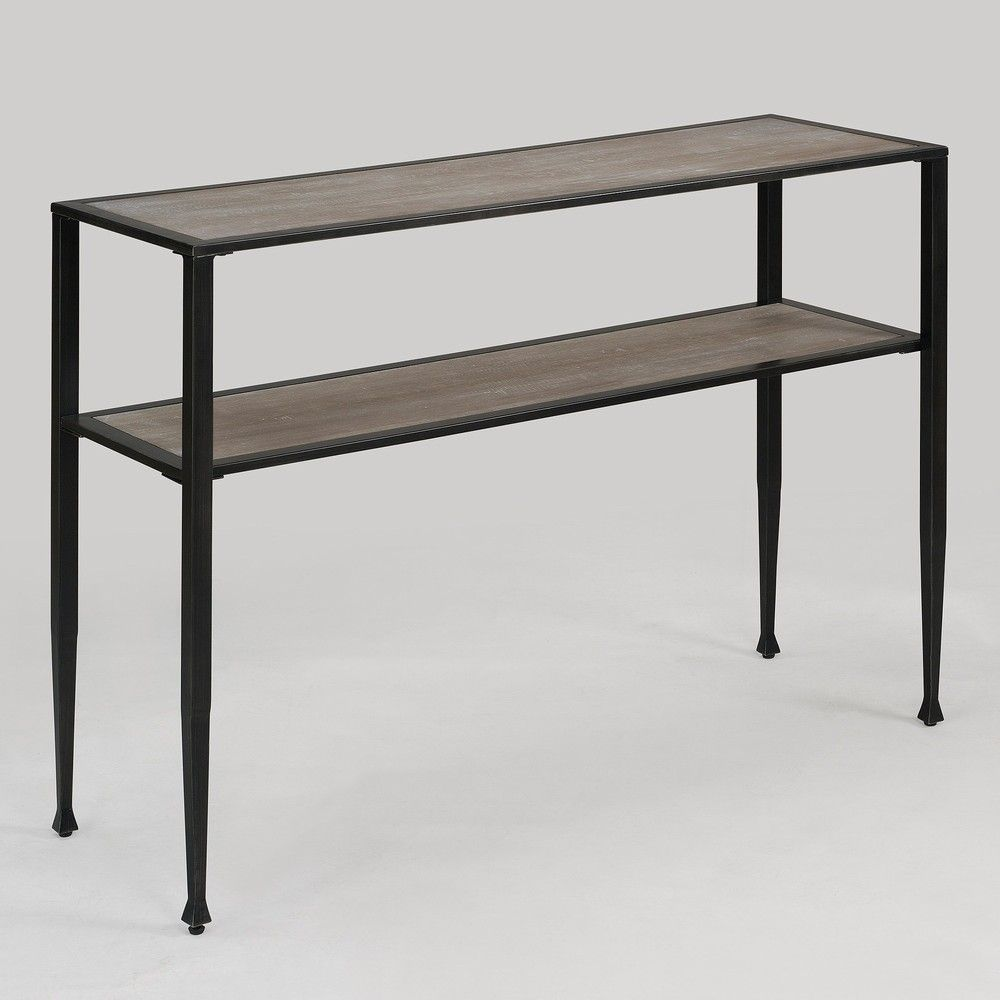 Shuffle sofa table brown sofa tables furniture outlet and shuffle sofa table overstock 140 geotapseo Choice Image