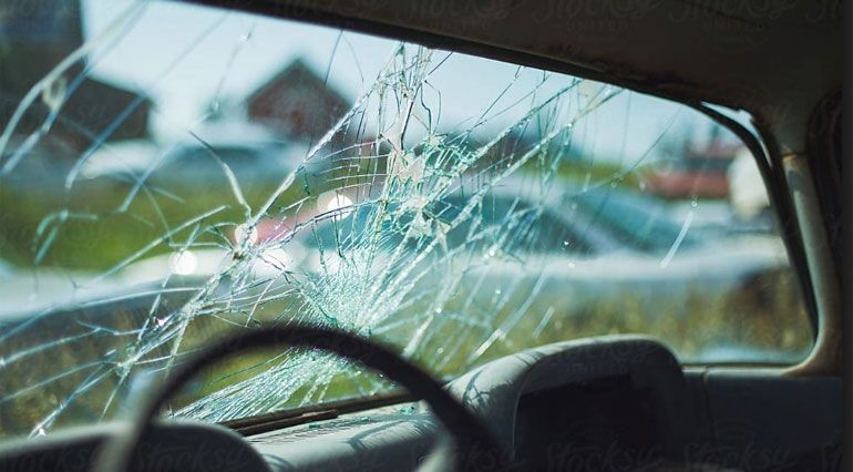 If your windscreen gets damaged such as small cracks or