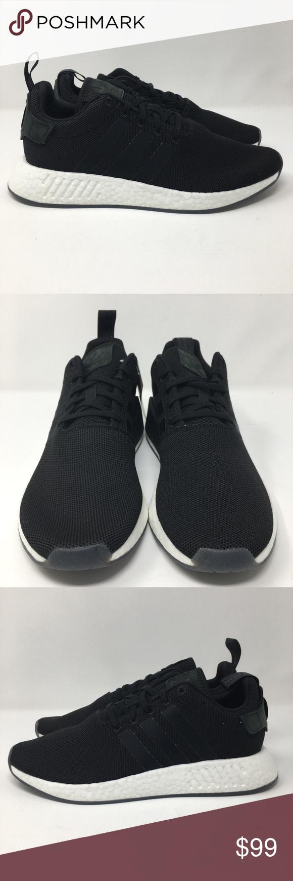 wholesale dealer 85d55 0dedf F1925) Adidas NMD R2 CQ2402 Black Men 10 Adidas NMD R2 Mens ...