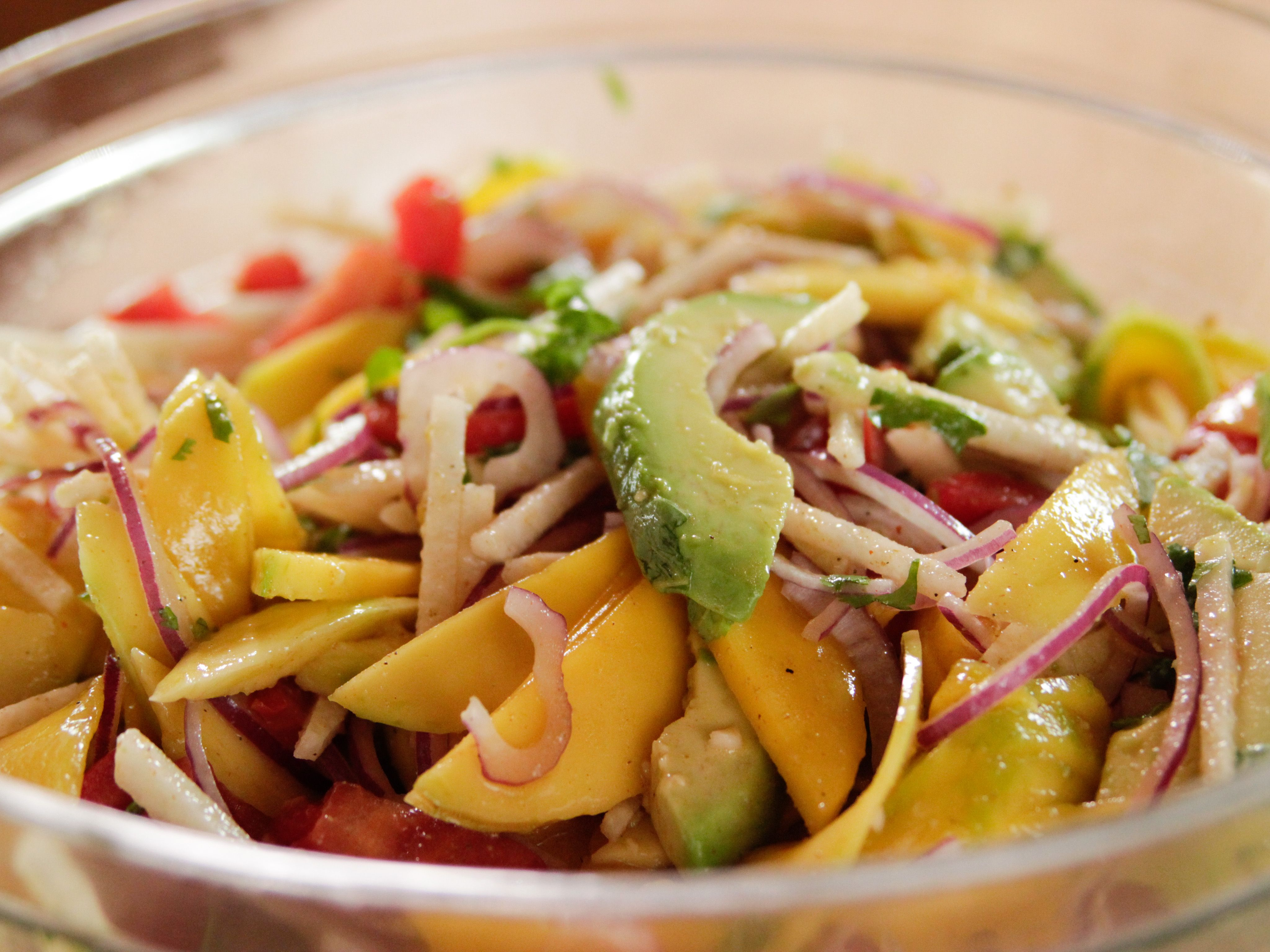 Spicy mango salad recipe mango salad salad and food spicy mango salad forumfinder Gallery