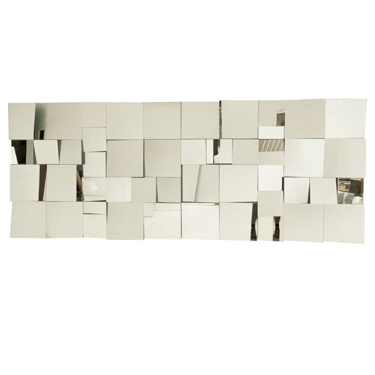 "Mirror Wall Sculpture neal smalls ""slopes"" mirror wall 