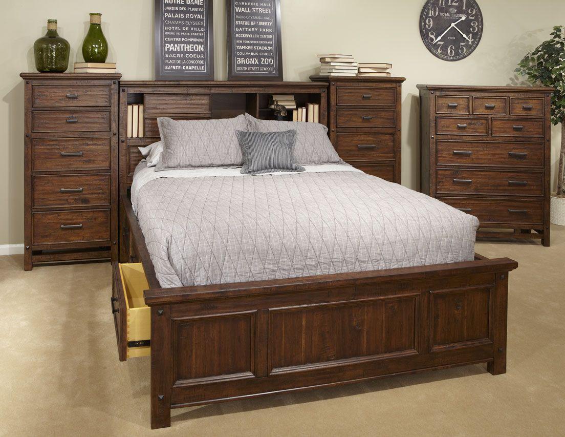 Wolf Creek Bedroom Furniture   Rustic Western Home ...