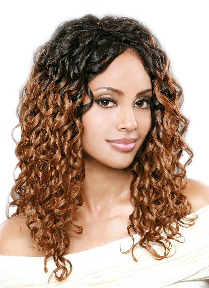 Pictures Of Curly Weave Hairstyles For Black Women Best Hairstyles