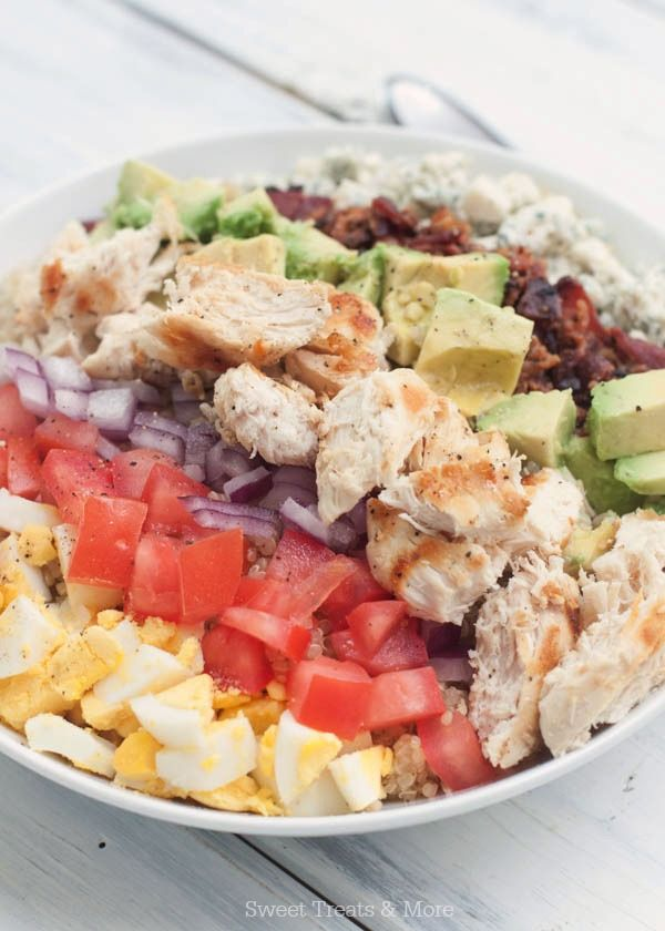 Green Goddess Quinoa Cobb Salad