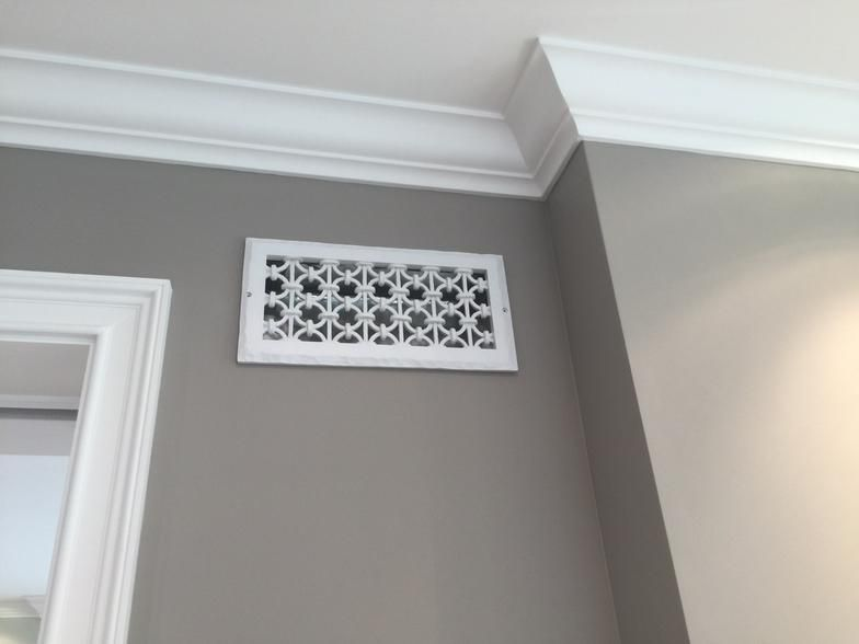 Iron Ring Vent Cover Wall Covers