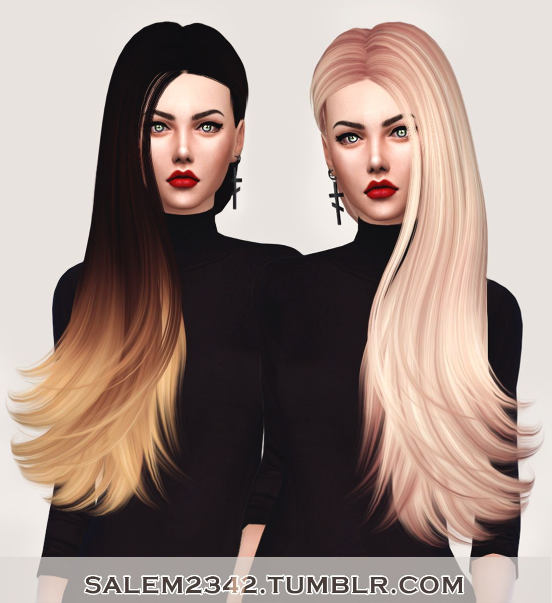 206 best images about sims 3 on pinterest dots sims 4 and warm - Salem2342 Skysims Hair 259 Retexture Sims 4 Hairs Http Sims4hairs