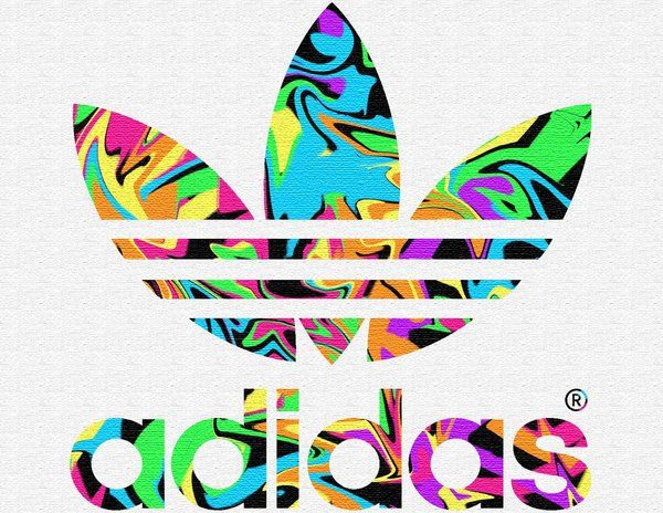 adidas logo colors