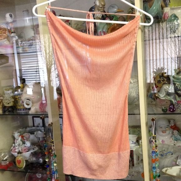 NWT eBase Peach Top Size M Brand new with tag!!! Bought and kept in my closet.  Living in a smoke-free home. Immaculate condition!!!! Great deal!!! =] eBase Tops
