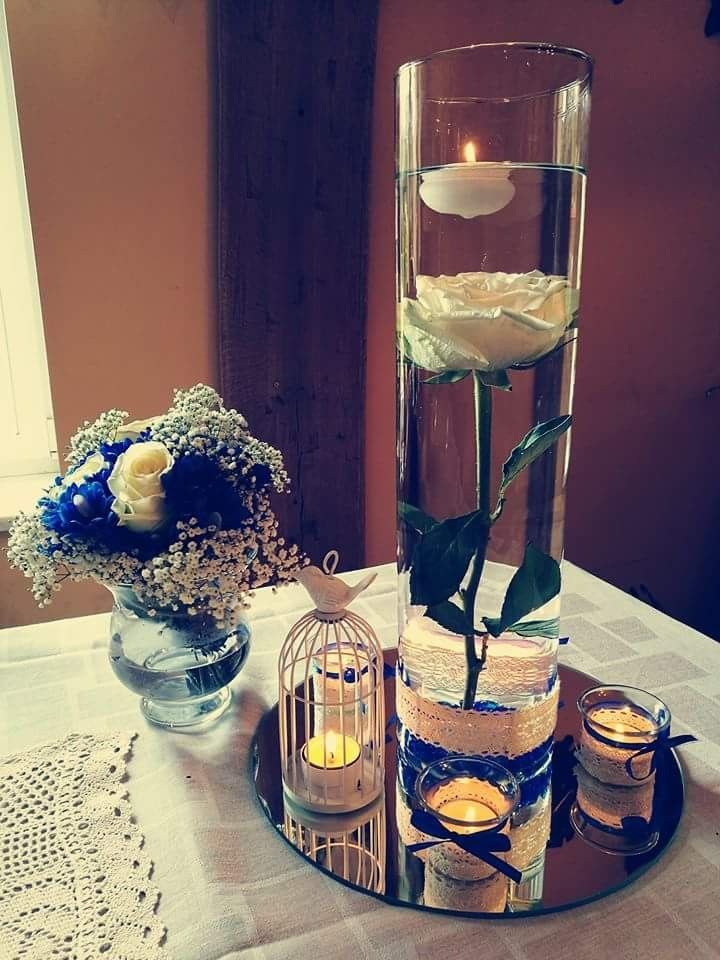 Kwiat W Wodzie Table Decorations Decor Home Decor