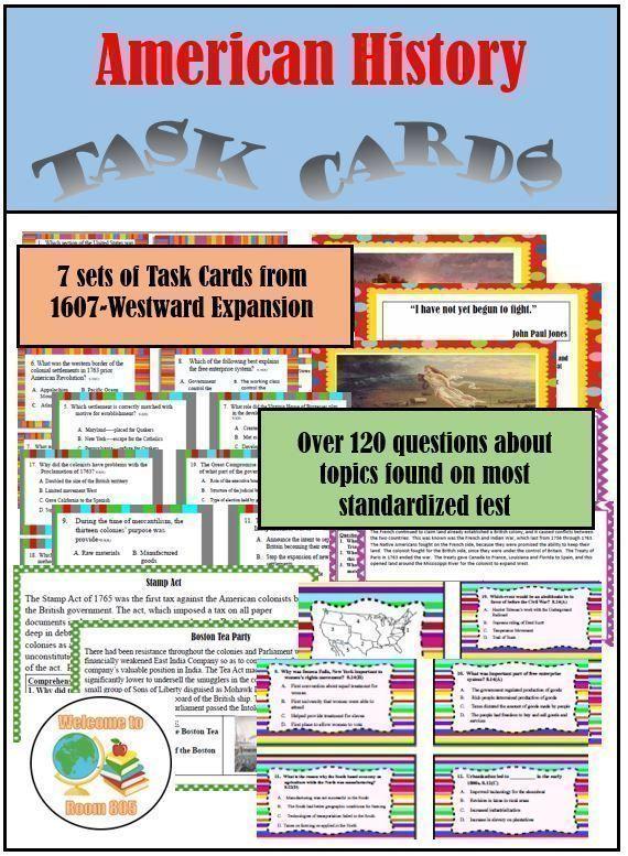 STAAR Task Card Bundle 1-3, 5-7 | Task card bundle, Task ...
