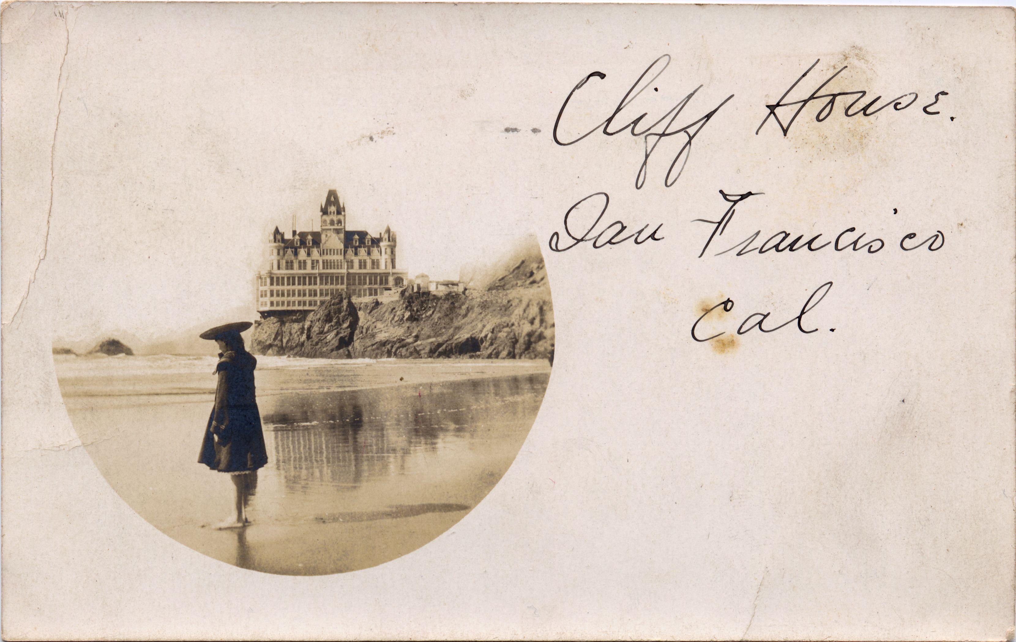 Cliff House San Francisco, CA. Postcard.