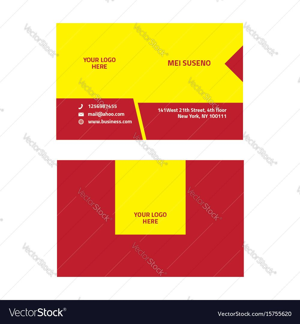 corporate business card, business card. Download a Free Preview or ...