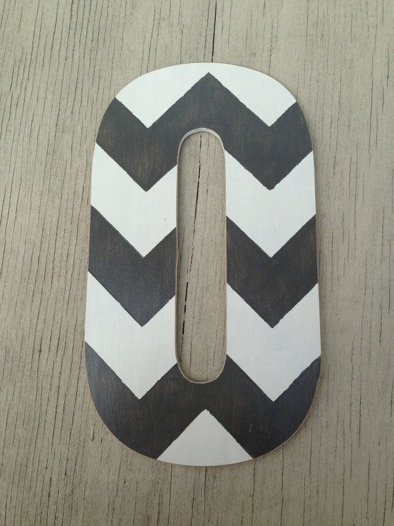 Rustic Dark Grey Chevron Home Decor 13 Decorative Letters Wedding Gift Bridesmaid