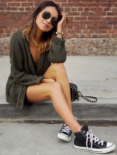 Femme Baskets mode | Femme Robes : Converse :