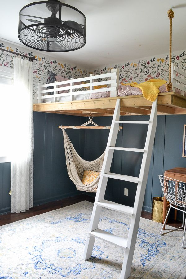 Photo of Budget Friendly Modern Girl's Bedroom with Vintage Touches