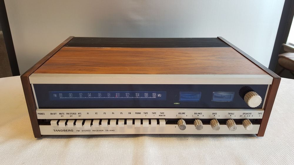 Details about Vintage Tandberg TR 2075 MKII AM/FM Stereo