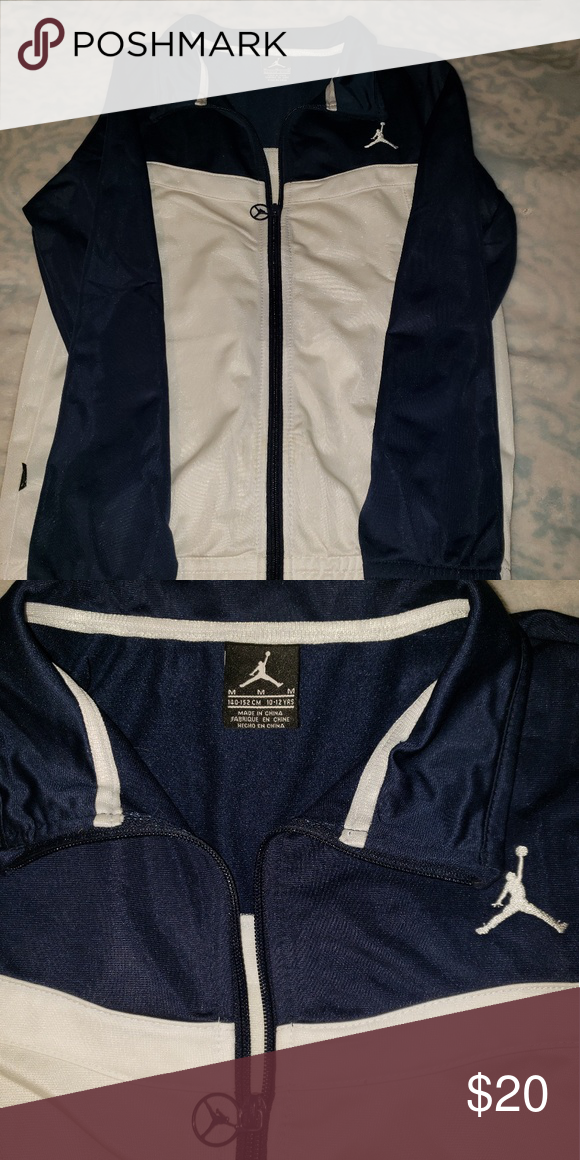 99d34ba5414390 youth JORDAN TRACK JACKET EUC air Jordan jacket. My son used to for one  season