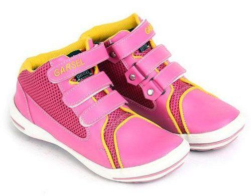 Sepatu Anak Cewek Kombinasi Merah Pink Kuning Sepatu Anak Cewek