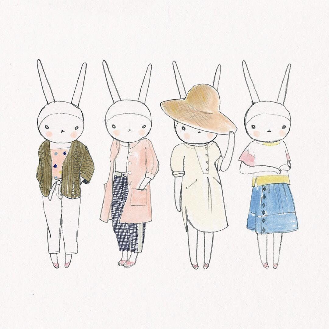 Fifi Lapin Wears The Sideline Women S Wear Collection Diseno Minimalista Disenos De Unas