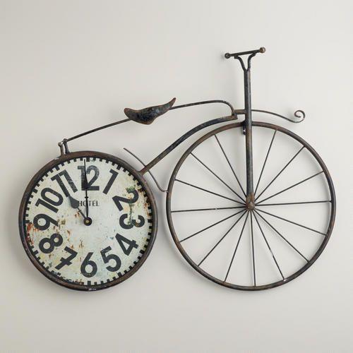 Bicycle Wall Clock Diy Clock Wall Wall Clock Clock