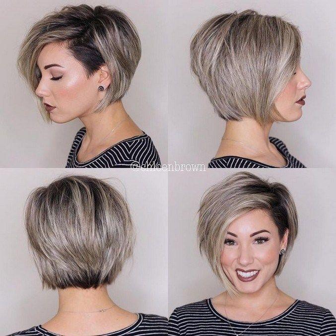 45 Unglaubliche Frisuren Ideen Fur Dunnes Haar Frisuren Haarschnitte Frisur Ideen Frisur Kurz Rundes Gesicht