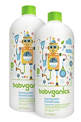 Babyganics Foaming Dish And Bottle Soap Refill Fragrance Https