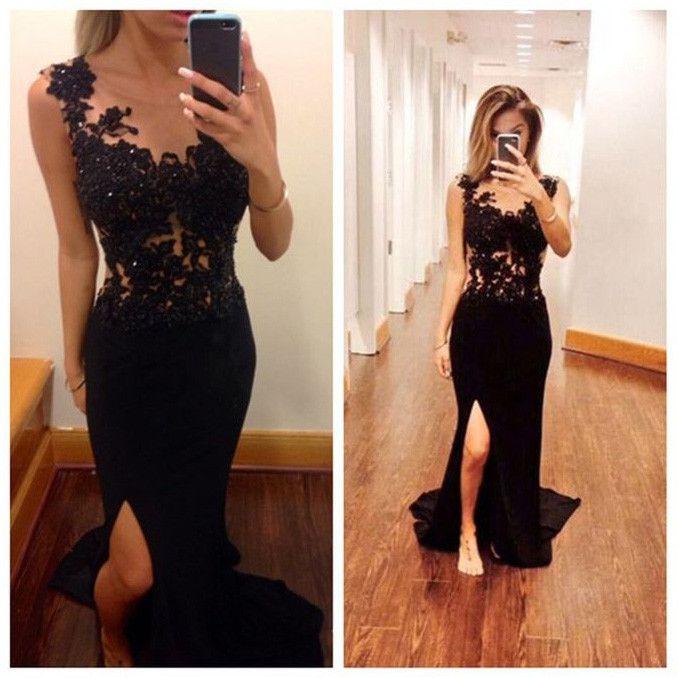 Black evening dresses on sale
