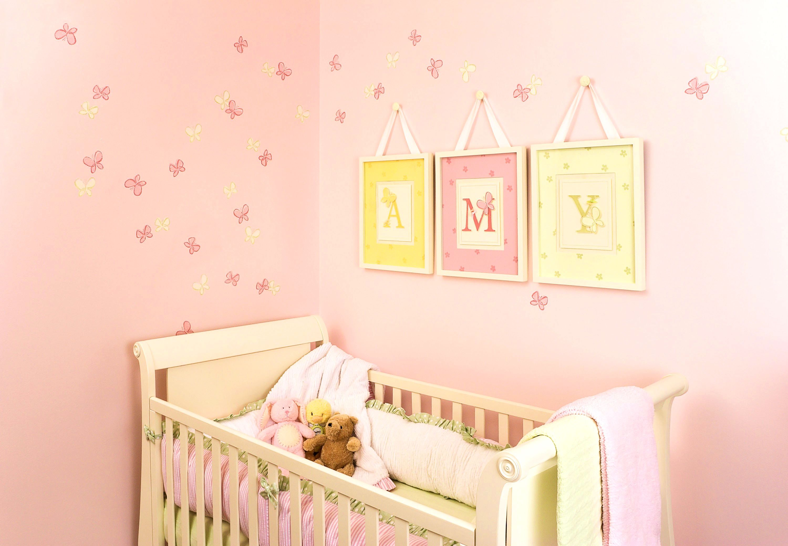 baby wall borders for girls room baby girl nursery wallpaper uk