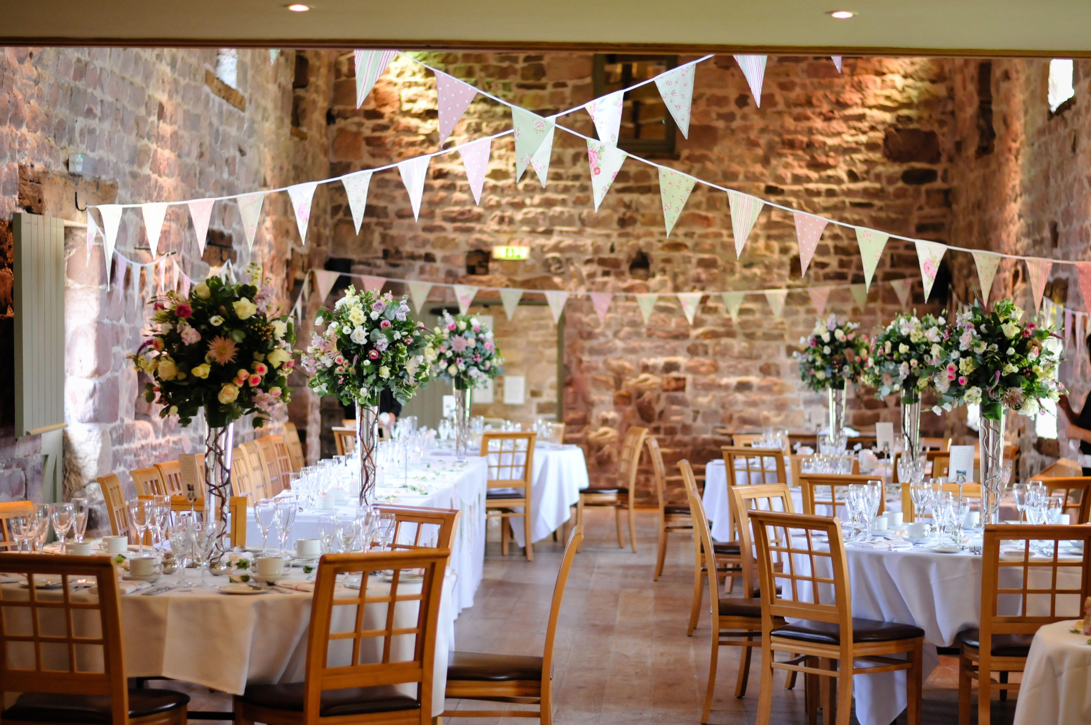 Vintage Rose Garden Bunting Hired For A Beautiful Summer Vintage