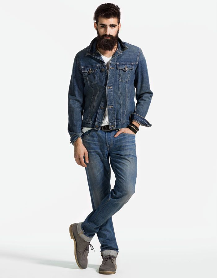 Danny Trucker Lightweight Loomstate Mens Denim Jacket Bobby Straight