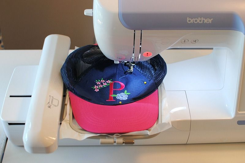 How To Machine Embroidery On Hats Embroidery On Hats Machine Embroidery Patterns Machine Embroidery