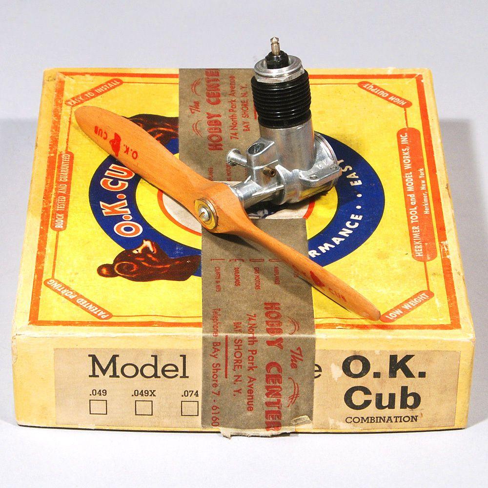 Vintage OK Glow Plug G-3 SHORT for Nitro Engine  N.O.S. 619