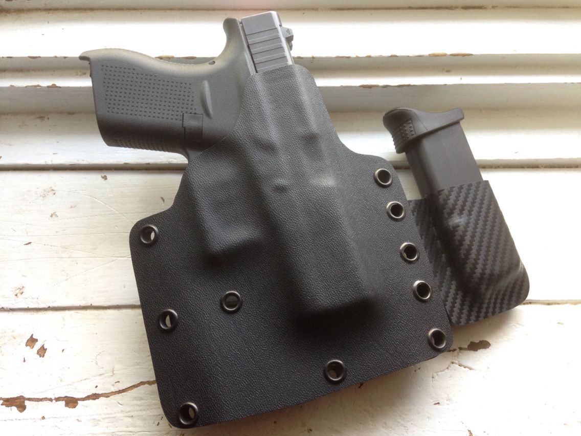 Sabby Tactical holster/mag pouch for Glock 42    | Holsters