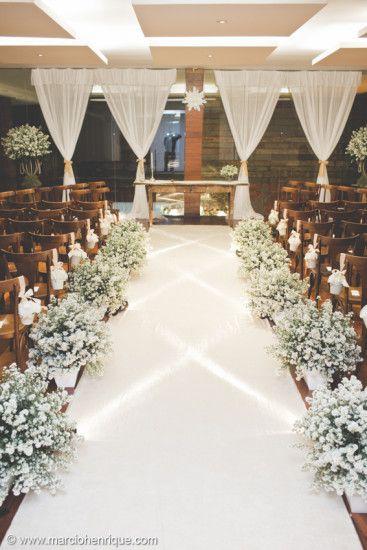 Perfekt Tapete De Casamento Branco