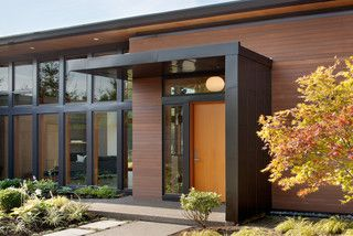 Olympia Residence Modern Exterior Seattle By Coates Design