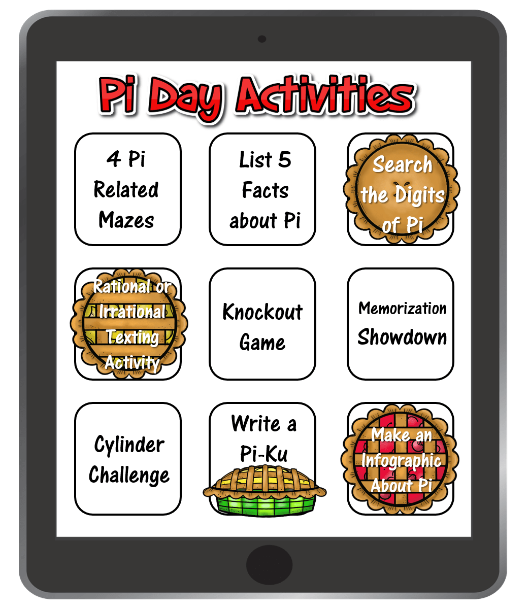 9 Easy Activities To Celebrate Pi Day Easy Activities Pi Day How To Memorize Things [ 1200 x 1042 Pixel ]