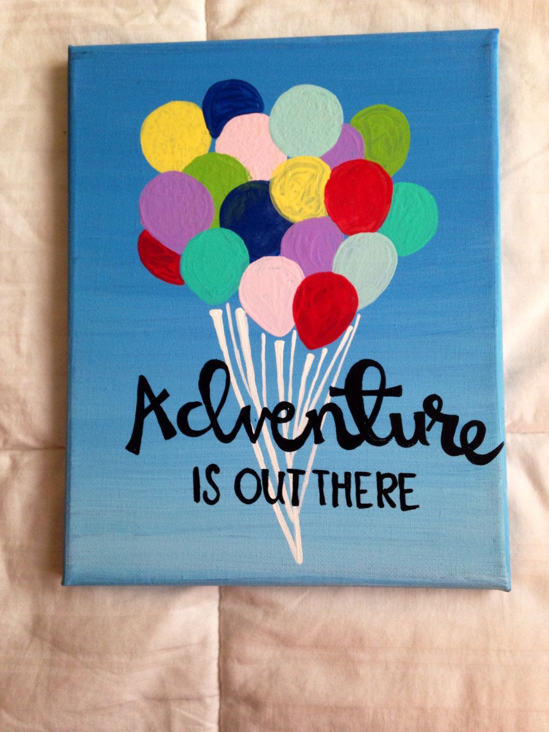 Canvas Quote Adventure Is Out There Disney Pixars By Kismetcanvas 2000