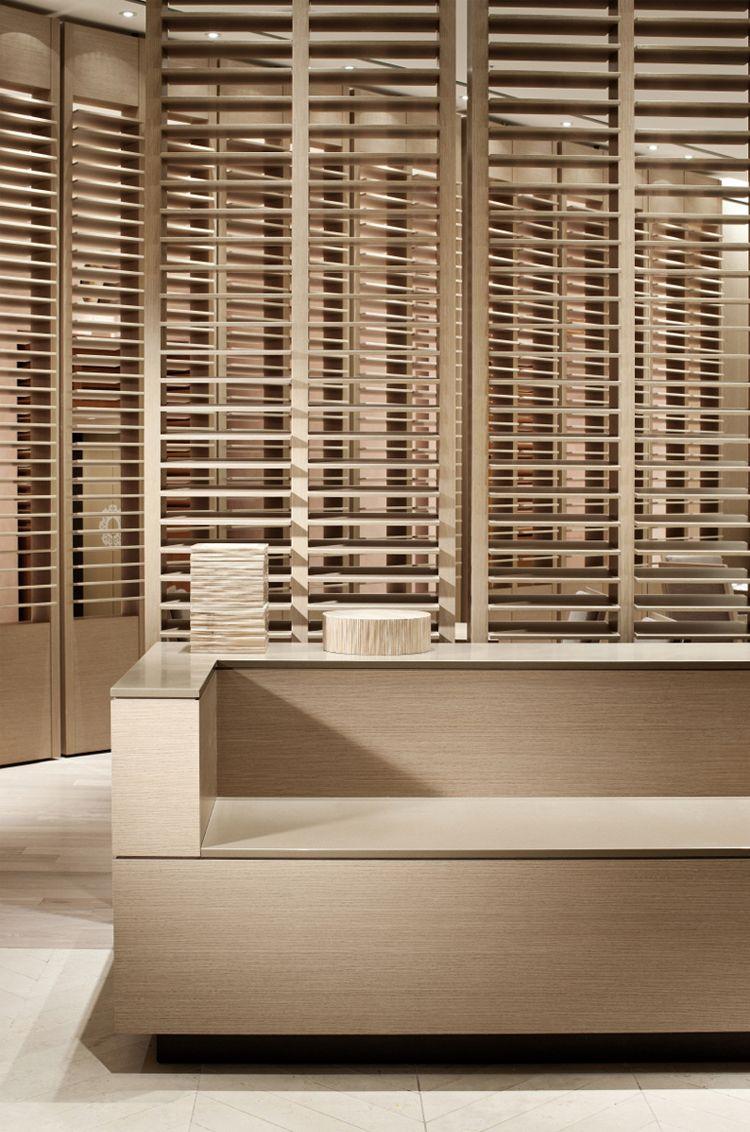 staron solid surface : bb227 - bristol beige ] restaurant lounge