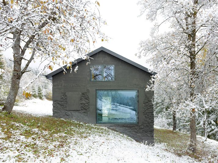 An Architect S Holiday House In Valais Switzerland Architects