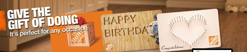 Home depot gift cards egift cards and gift ideas
