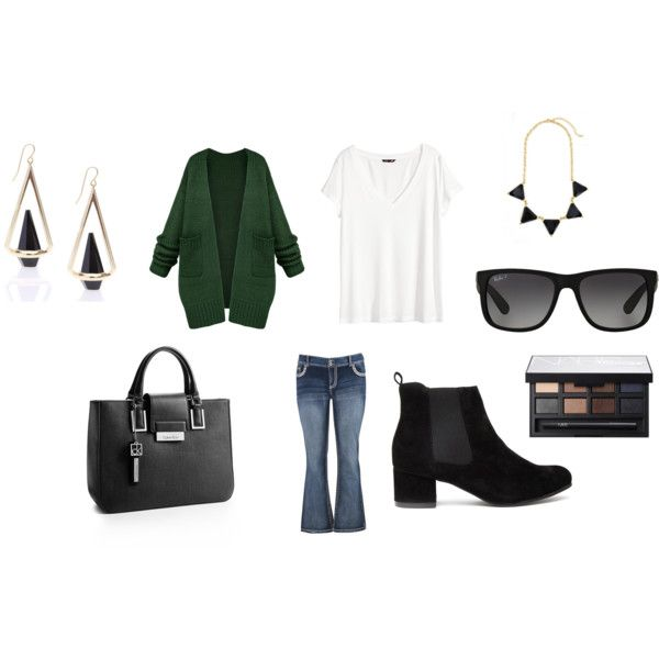 Untitled #7094 by allitiner16 on Polyvore featuring H&M, maurices, Calvin Klein, Ray-Ban and NARS Cosmetics