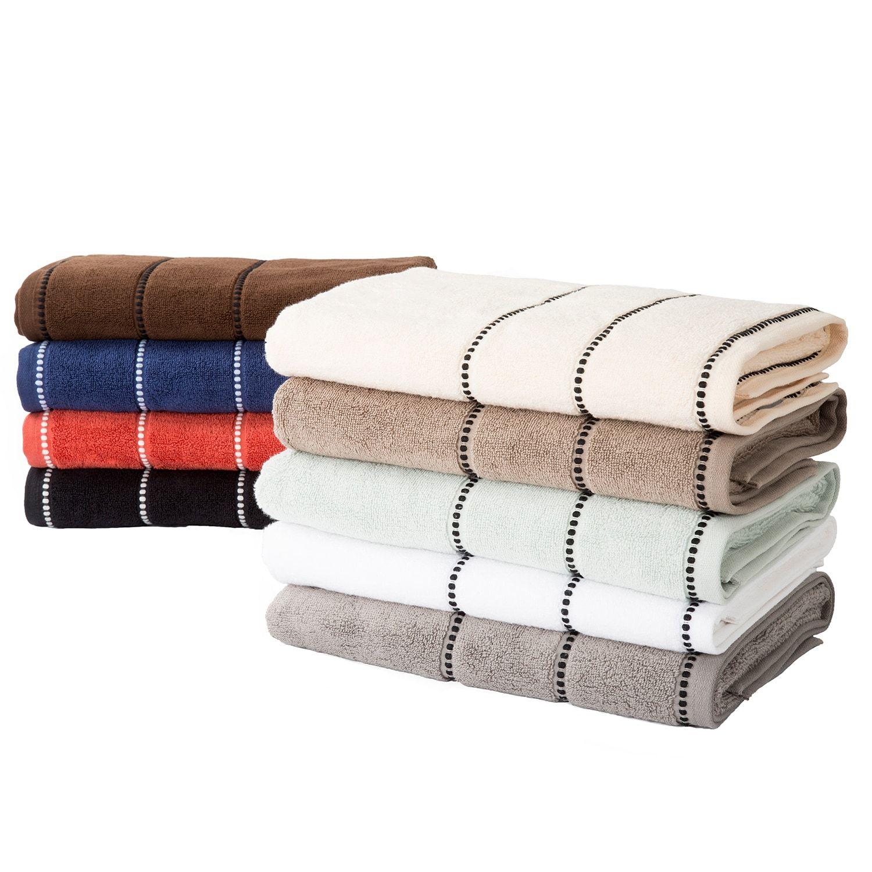 Sea Foam Black Luxury Cotton Towel Set Of 6 Towel Set Cotton Towels Egyptian Cotton Towels