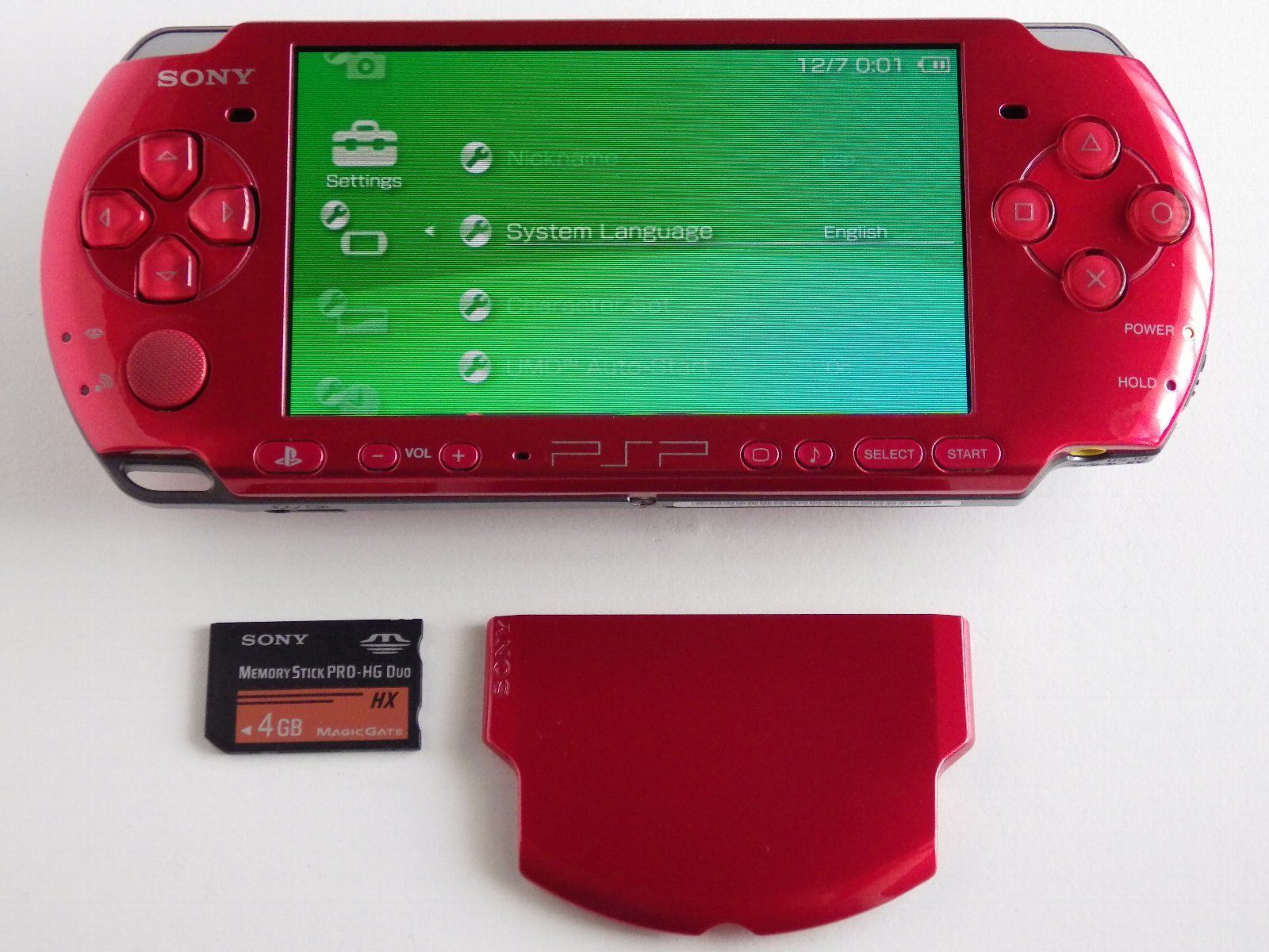 PSP 3000 Console Radiant Red Handheld System w Memory Battery Feel Free All UMD https://t.co/0vEj7JNNSo https://t.co/LP56kN8DXh