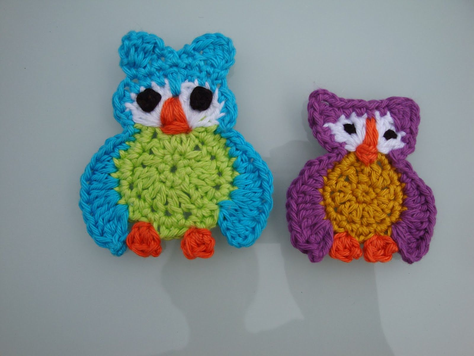 Gratis Haakpatroon Uil Gehaakte Applicaties Crochet Crochet