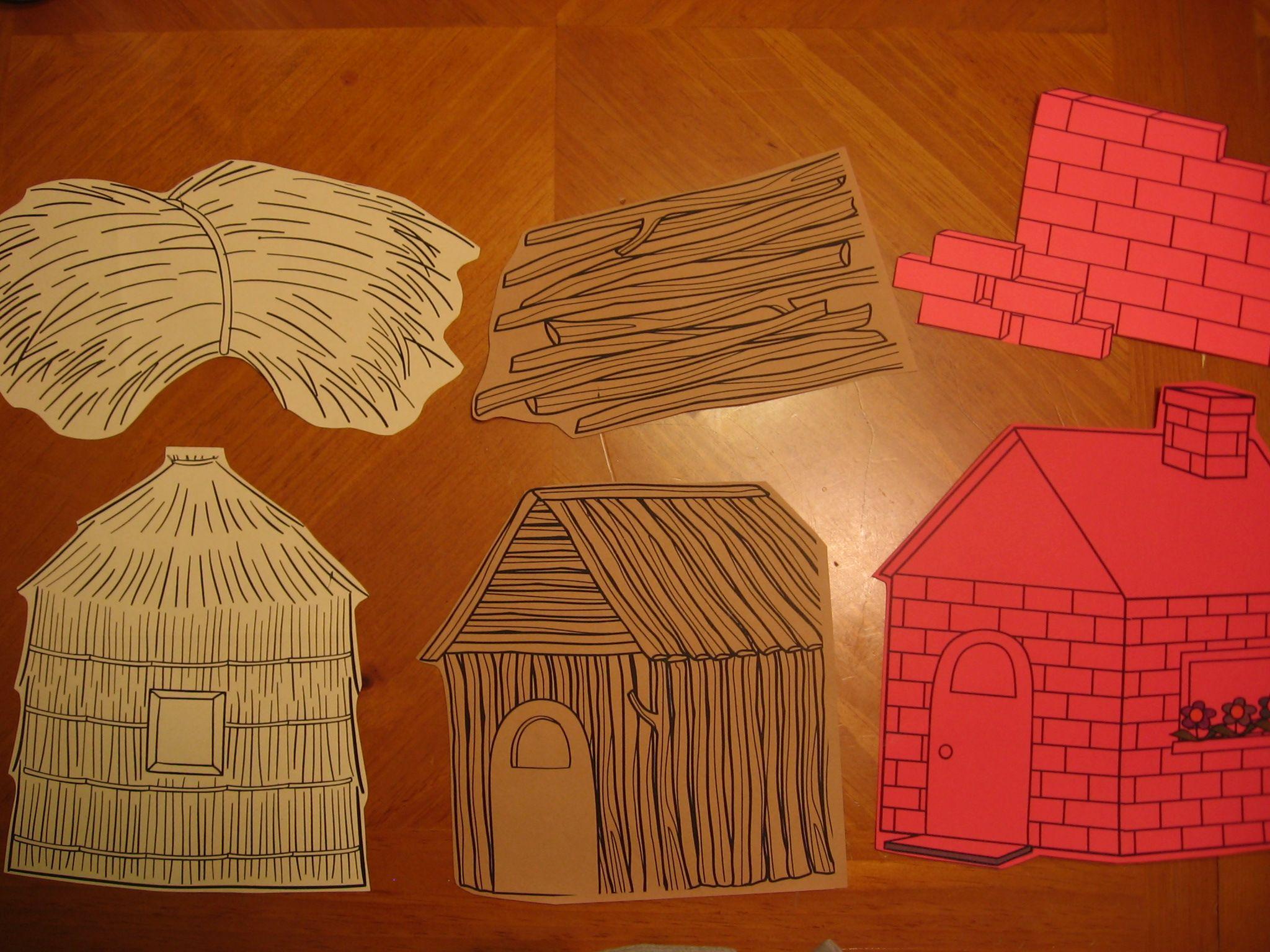 The Three Little Pigs Little Pigs Three Little Pigs Three Little Pigs Houses [ 1536 x 2048 Pixel ]