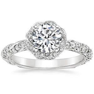 18K White Gold Cordoba Diamond Ring