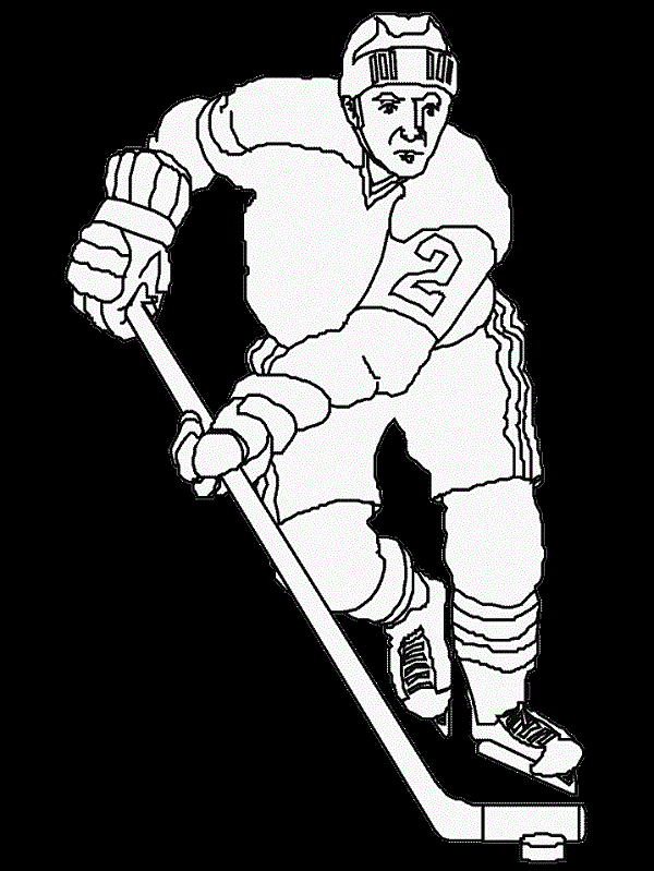 hockey coloring pages nhl | Coloring Kids | Color me | Pinterest