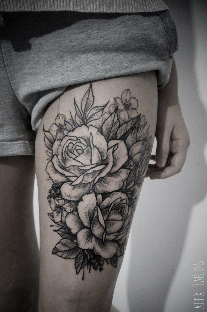 60 Sexy Thigh Tattoos For Women 2016 Tattoo Ideas Thigh Hip