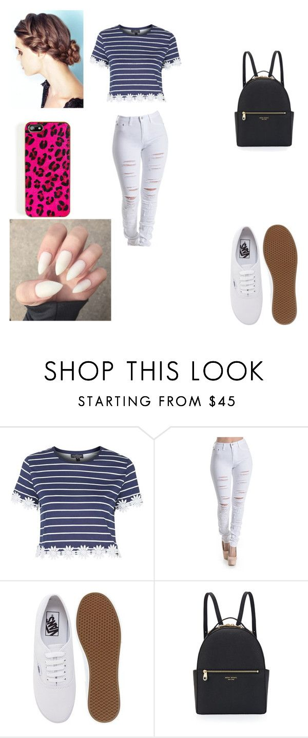 """""""/."""" by angelinaasshole on Polyvore featuring Topshop, Vans and Henri Bendel"""